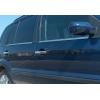 Нижние молдинги стекол (нерж., 4 шт.) для Ford Fusion 2002-2012 (Omsa Prime, 2604141)