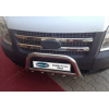 Накладки на решетку радиатора (нерж., 2 шт.) для Ford Transit 2007-2013 (Omsa Prime, 2621081)