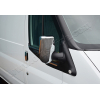 Накладки на зеркала (Abs-хром.) для Ford Transit 2003-2013 (Omsa Prime, 2621111)