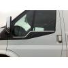 Нижние молдинги стекол (нерж., 2 шт.) для Ford Transit 2003-2013 (Omsa Prime, 2621141)