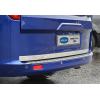 Хром накладка на кромку багажника (нерж.) для Ford Tourneo Custom 2012+ (Omsa Prime, 2624054)