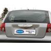 Накладка крышки багажника (над номером, нерж.) для Hyundai Getz (5D) HB 2002-2011 (Omsa Prime, 3201052)