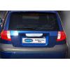 Накладка крышки багажника (над номером, нерж.) для Hyundai Getz (5D) HB 2006-2011 (Omsa Prime, 3201053)