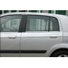 Нижние молдинги стекол (нерж., 6 шт.) для Hyundai Getz (5D) HB 2002-2011 (Omsa Prime, 3201141)