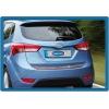 Хром накладка на кромку багажника (нерж.) для Hyundai i20 2012-2014 (Omsa Prime, 3217053)