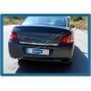 Хром накладка на кромку багажника (нерж.) для Citroen C-Elysee 2012+ (Omsa Prime, 5715052)