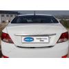 Хром накладка на кромку багажника (нерж.) для Hyundai Accent/Solaris 2011+ (Omsa Prime, 3214052)