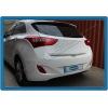 Хром накладка на кромку багажника (нерж.) для Hyundai i30 2012+ (Omsa Prime, 3215053)