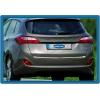 Хром накладка на кромку багажника (нерж.) для Hyundai i30 SW 2012+ (Omsa Prime, 3219053)