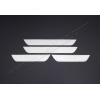 Накладки на пороги (нерж.) для Hyundai I40 SD 2011+ (Omsa Prime, 3216091)