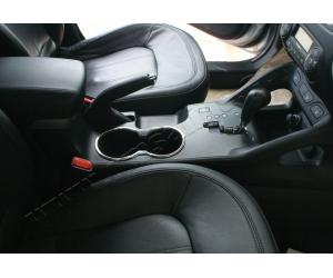 Окантовка на подстаканник (нерж.) для Hyundai ix35 2010-2013 (Omsa Prime, 3208021)