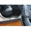 Накладки на пороги (нерж.) для Hyundai ix35 2010-2015 (Omsa Prime, 3208091)