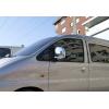 Накладки на зеркала (Abs-хром.) для Hyundai H1/Starex 1997-2007 (Omsa Prime, 3220111)