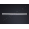 Нижние молдинги стекол (нерж., 4 шт.) для Kia Picanto (5D) HB 2011+ (Omsa Prime, 4019141)