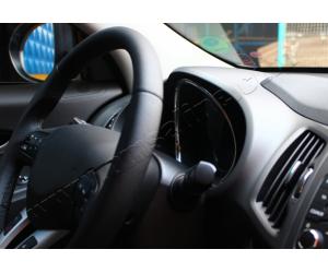 Окантовка на спидометр (нерж.) для Kia Sportage III 2010-2015 (Omsa Prime, 4016215)