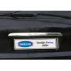 Накладка крышки багажника (над номером, нерж.) для Mercedes-Benz ML-Class (W163) 1998-2005 (Omsa Prime, 4705052)