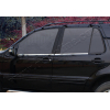 Нижние молдинги стекол (нерж., 4 шт.) для Mercedes-Benz ML-Class (W163) 1998-2005 (Omsa Prime, 4705141)