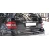 Накладка над номером на крышку багажника (нерж.)  для MERCEDES M-Class (W 164) 2005-2011 (Omsa Prime, 4710052)