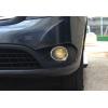 Окантовка на противотуманные фары (нерж., 2 шт.) для Mercedes-Benz Citan 2013+ (Omsa Prime, 4726103)