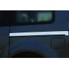 Молдинг под сдвижную дверь (нерж., 2 шт.) для Mercedes-Benz Citan 2013+ (Omsa Prime, 6122132)
