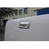 Накладка на ручку двери багажника (нерж., 2 шт.) для VW Amarok 2010+ (Omsa Prime, 7535051)
