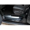 Накладки на внутренние пороги (нерж., 4 шт.) для Volkswagen Amarok 2010+ (Omsa Prime, 7535094)
