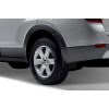 Брызговики задние (полиуретан, с расширителем арок) для Citroen Jumper/Peugeot Boxer 2006+ (Novline, NLF.10.20.E18)