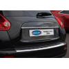 Накладка крышки багажника (над номером, нерж.) для Nissan Juke 2010+ (Omsa Prime, 5008052)