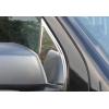 Накладка на стекло косынку (треугольник, нерж.) для Nissan Navara 2005-2015 (Omsa Prime, 5003112)