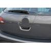 Накладка на ручку двери багажника (нерж., 1 шт.)  для Opel Astra J (5D) HB 2010-2014 (Omsa Prime, 5216051)
