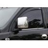 Накладки на зеркала (Abs-хром.) для Opel Combo C 2001-2011 (Omsa Prime, 5220111)