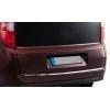 Хром накладка на кромку багажника (нерж.) для Opel Combo D 2011+ (Omsa Prime, 2524052)