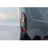 Окантовка на стопы (ABS-пластик., 2 шт.) для Opel Combo D 2011+ (Omsa Prime, 2524101)