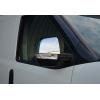 Накладки на зеркала (нерж., 2 шт.) для Opel Combo D 2011+ (Omsa Prime, 2524111)