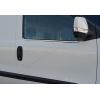 Нижние молдинги стекол (нерж., 4 шт.) для Opel Combo D 2011+ (Omsa Prime, 2524141)