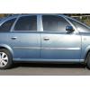 Нижние молдинги стекол (нерж., 4 шт.) для Opel Meriva 2002-2010 (Omsa Prime, 5204141)