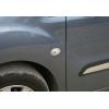 Окантовка на повторители поворота (нерж., 2 шт.) для Peugeot 1007 (3D) HB 2005-2009 (Omsa Prime, 9501151)