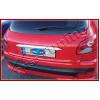 Накладка над номером на крышку багажника (Abs-хром.) для Peugeot 206 1998-2012 (Omsa Prime, 5702053)