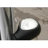 Накладки на зеркала (нерж., 2 шт.) для Peugeot 206 (5D) 1998-2012 (Omsa Prime, 5702111)