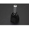 Рычаг ручного тормоза (алюминий/кожзам) для Peugeot 206 1998-2012 (Omsa Prime, 5702012)