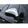 Накладки на зеркала (нерж., 2 шт.) для Peugeot 207 HB/SW 2006-2012 (Omsa Prime, 5706111)