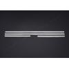 Нижние молдинги стекол (нерж., 4 шт.) для Peugeot 207 (5D) HB 2006-2012 (Omsa Prime, 5706141)