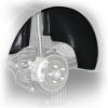 Подкрылок (задний правый) для KIA Rio HB 2012+ (NOVLINE, EXP.NLL.25.39.004)