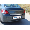 Хром накладка на кромку багажника (нерж.) для Peugeot 301 SD 2012+ (Omsa Prime, 5715052)