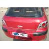 Хром накладка на кромку багажника (нерж.) для Peugeot 307 (5D) HB 2001-2008 (Omsa Prime, 5703052)