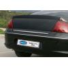 Хром накладка на кромку багажника (нерж.) для Peugeot 407 SD 2004-2010 (Omsa Prime, 5704052)