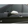 Накладки на зеркала (Abs-хром.) для Peugeot 407 SD/SW/Coupe 2004-2010 (Omsa Prime, 5703111)