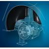 Подкрылок (задний правый) для Mitsubishi Colt (3D) 2009+ (NOVLINE, NIK.35.21.004)
