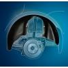 Подкрылок (передний правый) для MITSUBISHI Lancer SD/WN 2003-2007 (NOVLINE,  NIK-003002)
