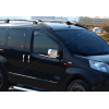 Накладки на зеркала (Abs-хром.) для Peugeot Bipper 2008+ (Omsa Prime, 2521112)